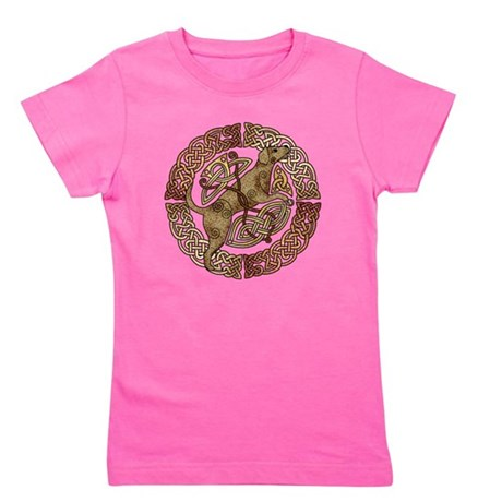 Celtic Dog Girl's Tee