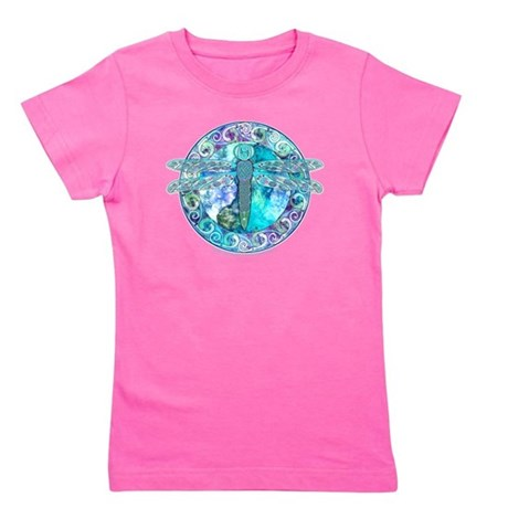 Cool Celtic Dragonfly Girl's Tee