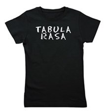 Blank Tablet (Latin) Girl's Tee