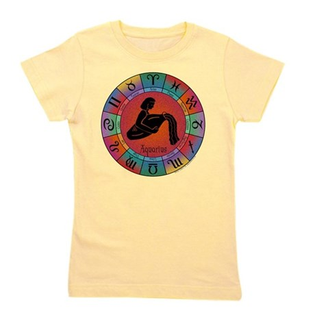 Aquarius the Water Bearer Girl's Tee