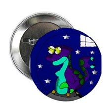 "An Alien in a spaceship 2.25"" Button"