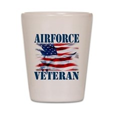 Airforce Veteran copy Shot Glass