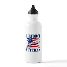 Airforce Veteran copy Water Bottle