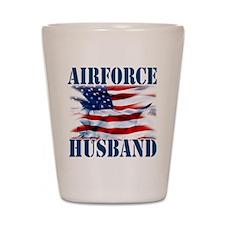 Airforce Husband Shot Glass