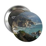 "California coast 2.25"" Button"