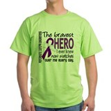 Bravest Hero I Knew Pancreatic Cancer T-Shirt