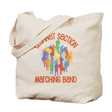 Clarinet Marching Band Tote Bag