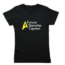 Future Starship Captain Girl's Tee