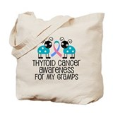 Thyroid Cancer Support Gramps Tote Bag