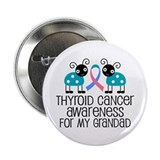"Thyroid Cancer Support Grandad 2.25"" Button"