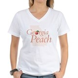 Georgia Peach State Women's Pink T-Shirt