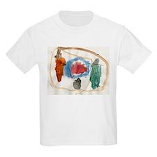 Griffin Fruit Painting T-Shirt