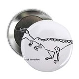 "Charlie's Troodon 2.25"" Button"
