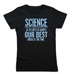 Science at Its Best Girl's Tee