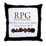 rpgoldschool.jpg Throw Pillow