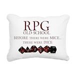 rpgoldschool.jpg Rectangular Canvas Pillow