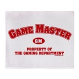 Game Master Throw Blanket