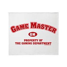 Game Master Throw Blanket