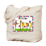 dietician birds 5 Tote Bag