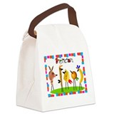 dietician birds 5 Canvas Lunch Bag