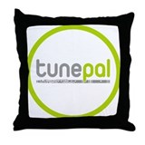 Tunepal Logo Throw Pillow