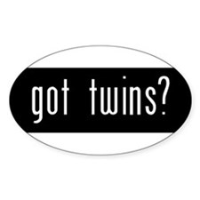 Got Twins_Bumper Decal