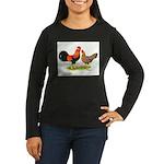 Leghorns Women's Long Sleeve Dark T-Shirt