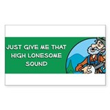 high lonesome bumper copy.jpg Decal
