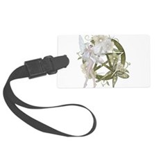 Beautiful fairy with pentacle Luggage Tag