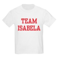 TEAM ISABELA  Kids T-Shirt
