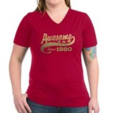 Awesome Since 1980 Shirt