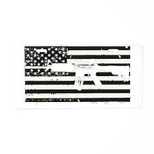 AMERICA Aluminum License Plate