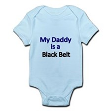 My Daddy is Black Belt Body Suit