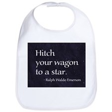 Hitch your wagon to a star Bib