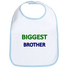 BIGGEST BROTHER-GREEN Bib