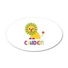 Caiden Loves Lions Wall Decal