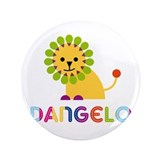 "Dangelo Loves Lions 3.5"" Button"