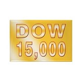 DOW 15000 Rectangle Magnet (10 pack)