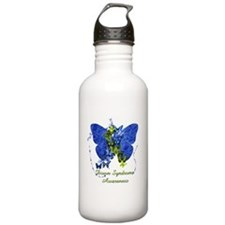 Down Syndrome Awareness Butterfly Water Bottle
