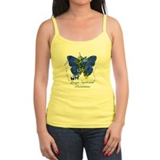 Down Syndrome Awareness Butterfly Tank Top