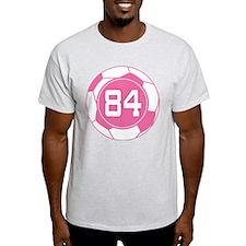 Soccer Number 84 Custom Player T-Shirt