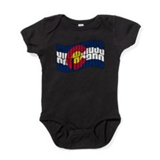 Snowmass Colorado Flag.png Baby Bodysuit