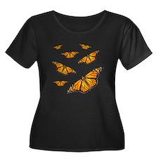 Monarch Butterflies Plus Size T-Shirt