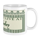 Jane Austen Pemberly Green Coffee Mug