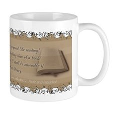 Jane Austen Reading Quote Coffee Mug