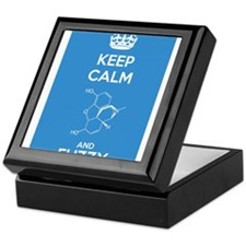 Keep Calm and Fuzzy (Morphine) Keepsake Box