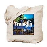 Franklin 4-Shot Logo Tote Bag