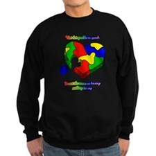 Speak up for Autism Support Sweatshirt