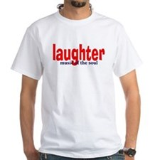 Laughter... Ash Grey T-Shirt