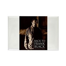 Back To Frank Black Book Cover Rectangle Magnet